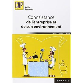 Connaissance de l'entreprise et de son environnement CAP