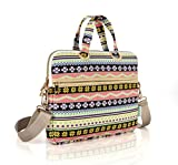 Best kayond Messenger Bags - KAYOND Yellow Snowflakes Patten Canvas Laptop Shoulder Messenger Review