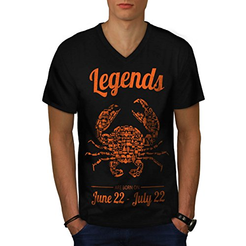 Beste Juni Juli Geburtstag Herren S V-Ausschnitt T-shirt   (Süße Ideen Für Freunde Kostüme Halloween Besten Für Die)