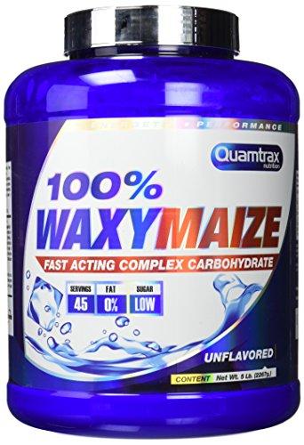Quamtrax Nutrition 100% Waxy Maize 5LB Suplementos de Carbohidratos -