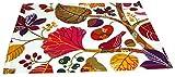 beties Zauberwald Platzset ca. 35x45 cm in interessanter Größenauswahl hochwertig & angenehm 100% Baumwolle Farbe (Elfenbein-bunt) 1 Stück