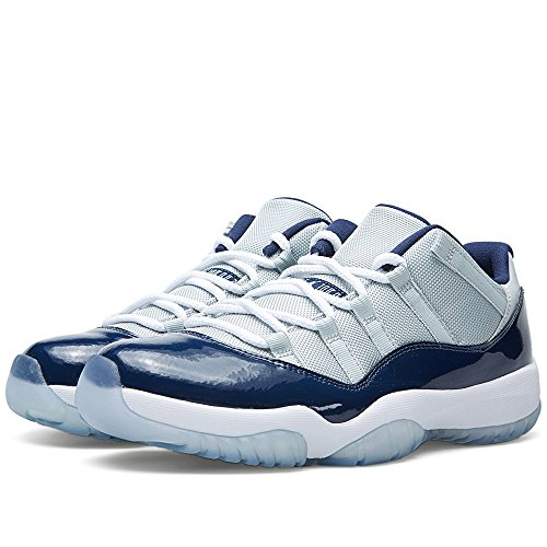 Nike Air Jordan 11 Retro Low, Chaussures de Sport-Basketball Homme Grey