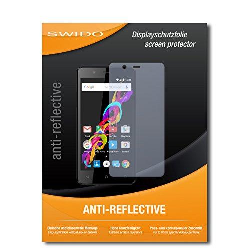 SWIDO Bildschirmschutz für Archos 50 Titanium 4G [4 Stück] Anti-Reflex MATT Entspiegelnd, Hoher Härtegrad, Schutz vor Kratzer/Glasfolie, Schutzfolie, Bildschirmschutzfolie, Panzerglas Folie