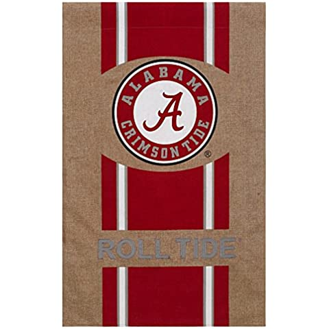 Università di Alabama Crimson Tide Logo a fascia di Tela