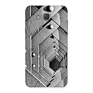 Special Cage Hexa Back Case Cover for Galaxy J7
