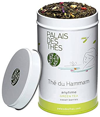 Palais des Thés - Thé vert THÉ DU HAMMAM - Boîte métal 100g