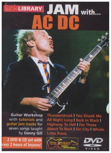 Lick Library Jam With Ac/Dc (2 Dvd+Cd) [Edizione: Regno Unito]