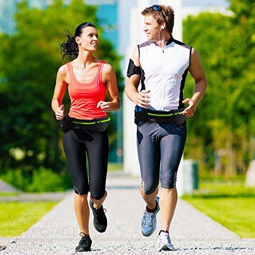 Cinturn-Running-MOSSLIAN-Rionera-Running-Belt-Deportivo-para-Correr-Fitness-Viaje-Deportes-y-aire-libre-para-Mvil-iPhone-Elstico-para-Mujer-y-Hombre