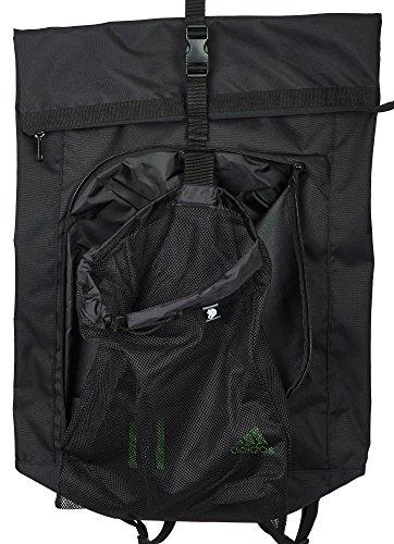 adidas Seesack Sporttasche und Rucksack Schwarz/Solar Green