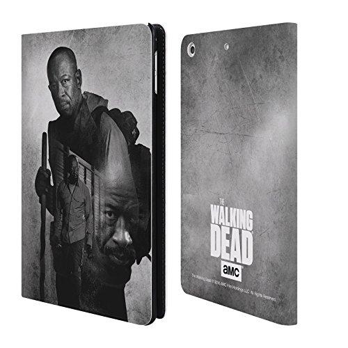 Ufficiale AMC The Walking Dead Morgan Doppia Esposizione Cover a portafoglio in pelle per Apple iPad mini 4