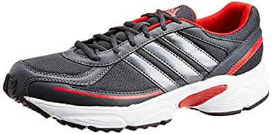 Adidas Men's Dario Black And Red Running Shoes - UK 6