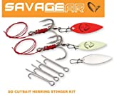 Savage Gear Cutbait Herring Stinger Kit, Größe:4/0