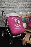 Babyline Dogs - Saco de silla de paseo, color rosa