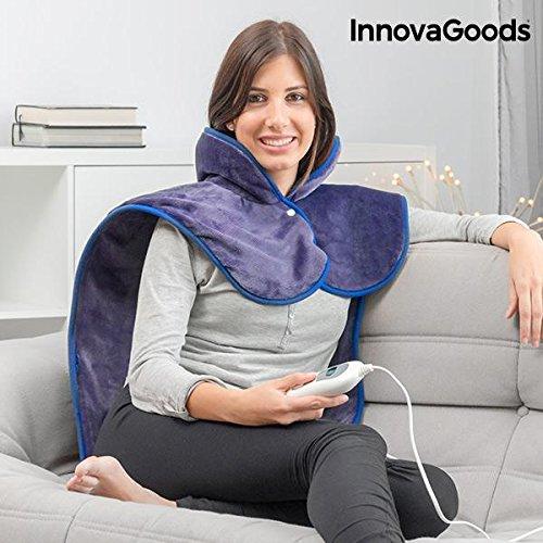 InnovaGoods IG115304 Almohadilla Eléctrica para Cuello, Hombros y Espalda