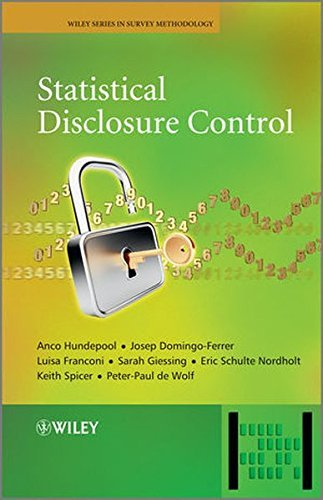 Statistical Disclosure Control by Anco Hundepool (2012-09-17)