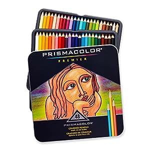 Sanford Prismacolor Premier Crayons de couleur, Lot de 48, Multicolore