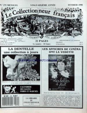 COLLECTIONNEUR FRANCAIS [No 274] du 01/0...