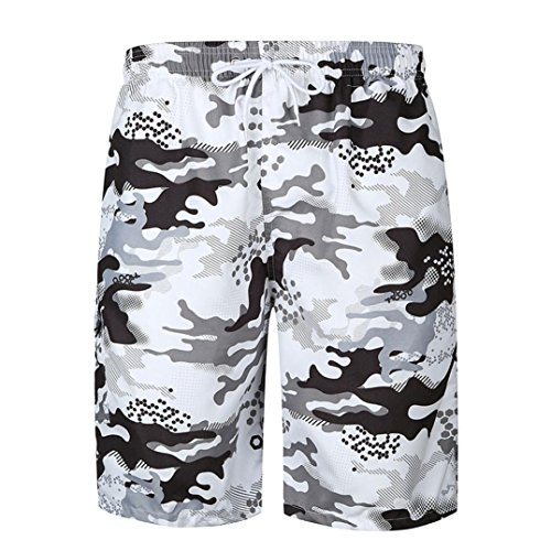 Bestoppen Men's Shorts, Sale Clearance Fashion Mens Summer Camouflage Printed Shorts Casual Pocket Beach Shorts Sports Gym Short Pants Trouser Work Shorts