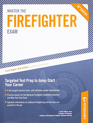Master the Firefighter Exam: Targeting Test Prep to Jump-Start Your Career (Arco Master the Firefighter)