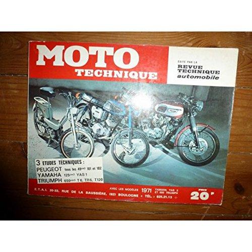 Rmt- Revues Techniques Moto - 101 102 125 T6 Revue Technique moto Peugeot Triumph Yamaha