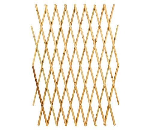 Dehner Variables Bambusspalier, ca. 255 x 85 cm, Bambus, Natur