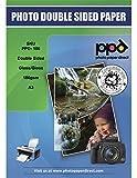 PPD A3 Jet d'encre Papier photo brillant/brillant double face 180 g/m² - 50 feuilles...