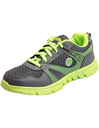 Action Shoes Women's Grey Green Running Shoes
