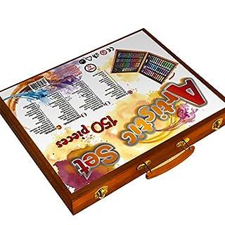 zantec 150PCs/Set Kinder Kids Studie Malwerkzeug Graffiti Färben bemalt Pen Puzzle Spielzeug