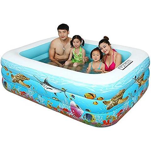 LIVY Piscina di palline infante e marine ispessito di piscina gonfiabile piscina famiglia figli piscina per adulti