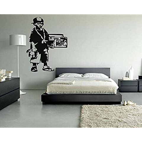 Banksy gangster boy da parete in vinile