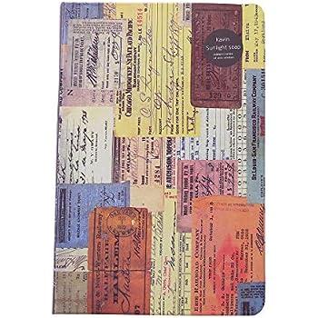 FUYUFU Diario Fai-da-te Coperchio In PVC Per Coperchio Raccoglitore Ad Anelli Facile E Riutilizzabile Con Fibbia Taccuini E Diari Tinta unita, A5