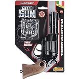 Villa Juguetes 61510–Pistola metal Gun Triton Try Me, Negro