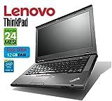 Lenovo ThinkPad TSeries 14in Intel i5 2.6GHz / 3.50Ghz - DISCO SSD - 12 GB - Garanzia 24 Mesi (Notebook Ricondizionato  Netmotive)