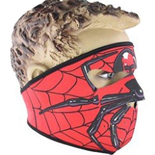 Lmeno Schädel Skelett Gesichtsmaske Ghost Style Balaclava Schädel Skelett Maske Motorrad Radfahren Cosply Kostüm Sport Ski Skifahren Snowboard Snowmobile - Typ (Kostüme C)