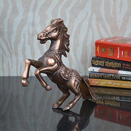eCraftIndia Metal Horse Statue