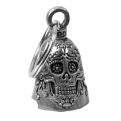 Campanilla Guardian Bell con calavera mexicana, sugar skull