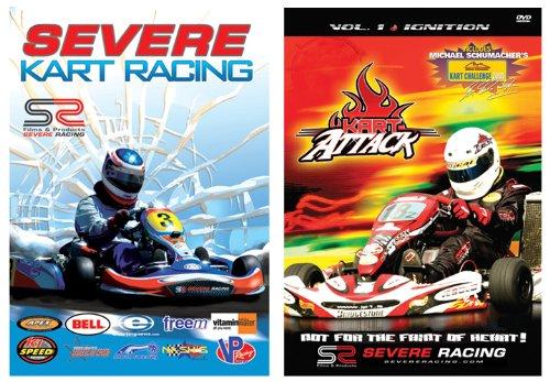Preisvergleich Produktbild 2-pack / Severe Kart Racing and Kart Attack Dvd's