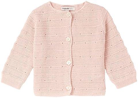 Noppies Baby-Mädchen Strickjacke G Cardigan Knit Eugene Rosa (Blush C093), 74
