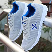 YAYADI  复制-Hombres Zapatos De Malla Transpirable Lace Up Zapatos Casual  Hombres Exterior Confort 973f0b005fd