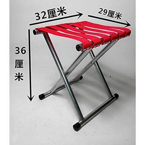 ZZP Mazar portátil plegable silla pesca/al aire libre esbozo Mazar/tren/militar pequeño Banco Mazar , 5