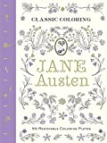 Jane Austen colouring book