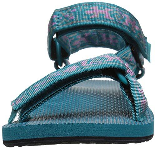 Teva Original Universal Womens Sandal De Marche Old Lizard Lake Blue