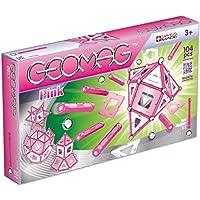 Geomag Panels Pink 104 pcs Juego de construcción - Juegos de construcción (Rosa, 3 año(s), 104 Pieza(s), Chica, Metal, 380 mm)