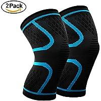 Boloshine Sport Knie Kniebandage Kompression (Paar),für Kraftsport, Joggen und Laufen preisvergleich bei billige-tabletten.eu