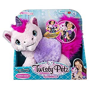 Spin Master Twisty Petz Unicorn - Juguetes de Peluche (Animales de Juguete, Multicolor, Felpa, 4 año(s), Unicornio, Chica)