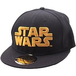 STAR WARS Golden Logo Cap Unisex - Sombrero de béisbol