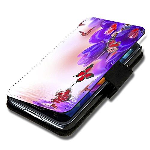 Book Style Flip Handy Tasche Case Schutz Hülle Schale Motiv Foto Etui für Samsung Galaxy S3 Neo - X9 Design12