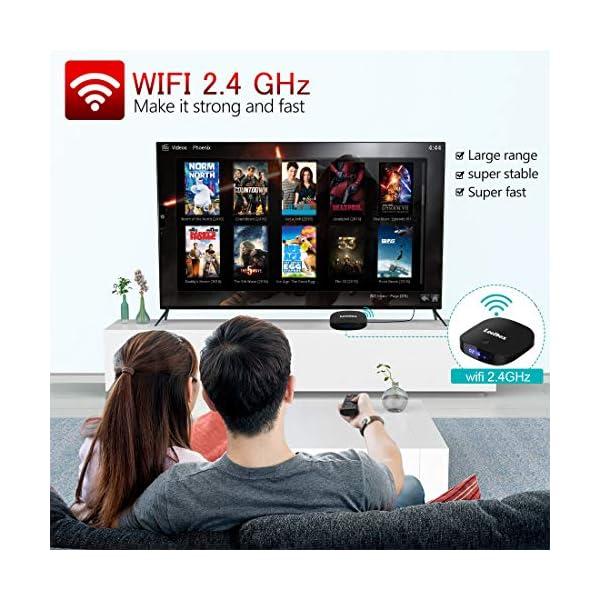 TV-Box-Android-81-Leelbox-Smart-TV-Box-avec-tlcommande-vocale-2-Go-de-RAM-et-16-Go-de-ROM-4K-2K-UHD-H265-HDMI-USB-2-Lecteur-multimdia-Wi-FI-botier-dcodeur-Android
