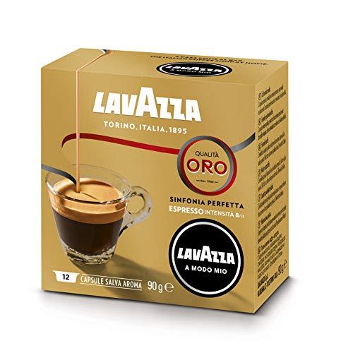 Lavazza Capsule Caffè A Modo Mio Qualità Oro - 10 confezioni da 12 capsule [120 capsule]