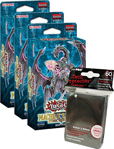 Yugioh! - Machina Reactor & Dinosmasher`s Fury - Structure Deck - Deutsch (3x Machina Reactor + 60 - Machina Deck Structure Yugioh